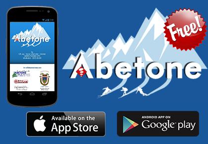 banner abetone webcam app